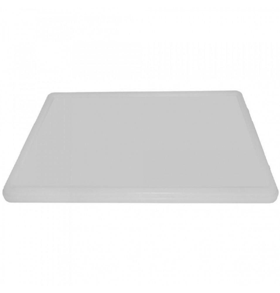 Capac suport pentru cutie aluat pizza, culoare alba, dimensiuni 600x400mm
