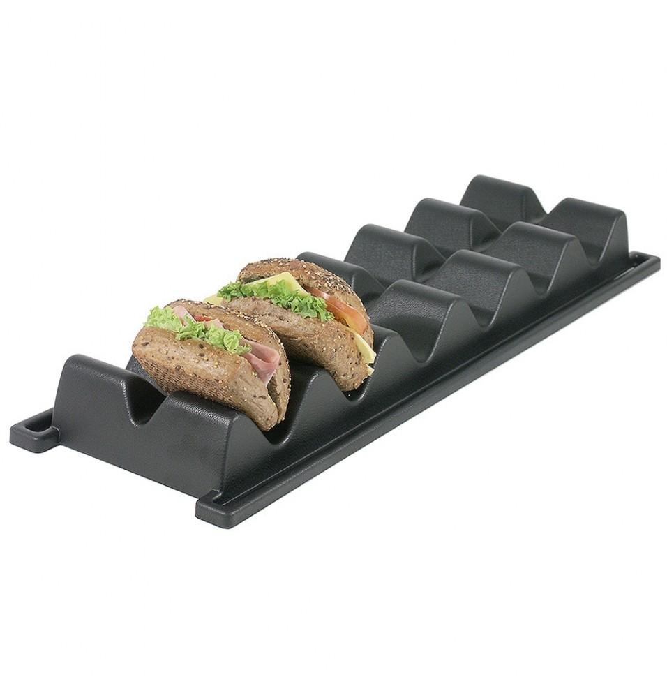 Suport 6 sandwich-uri, polistiren, culoare negru mat