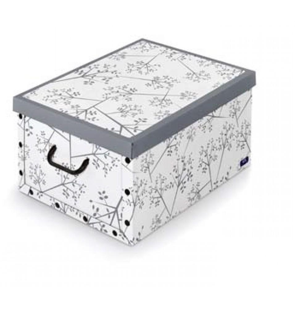 "Cutie depozitare ""Bon ton"", cu manere, dimensiuni 390x500x240mm, fabricata din carton"