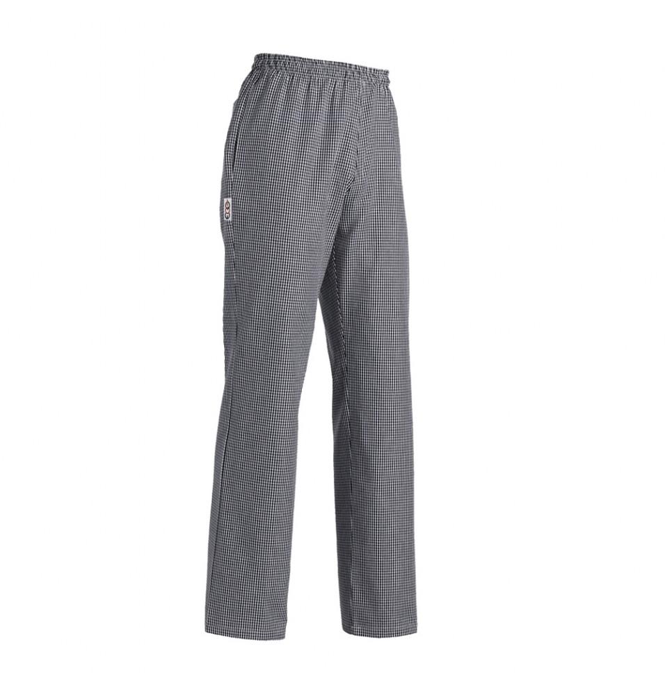 Pantalon Bucatar - culoare pepit Gri