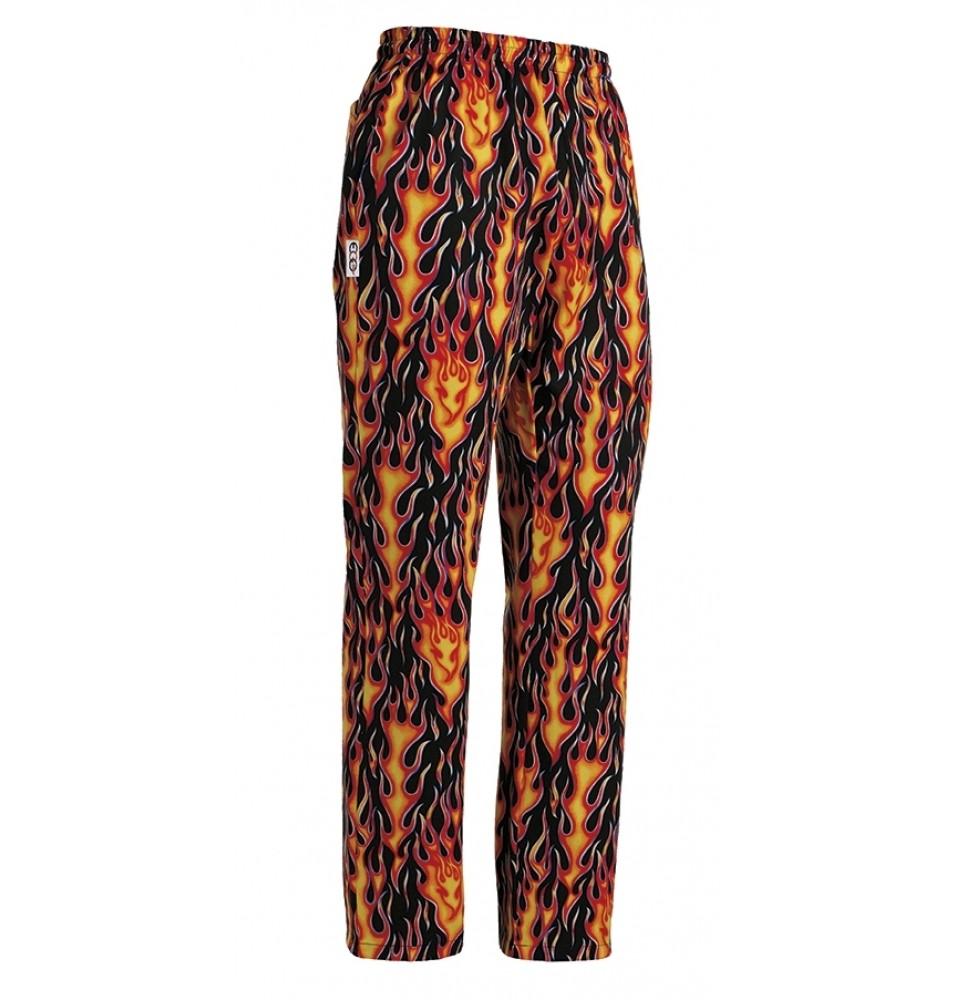 Pantaloni bucatar, realizati din 100% bumbac, marime L