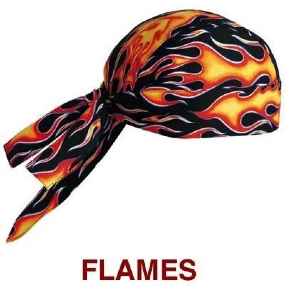 Bandana -model Flames, 100% bumbac