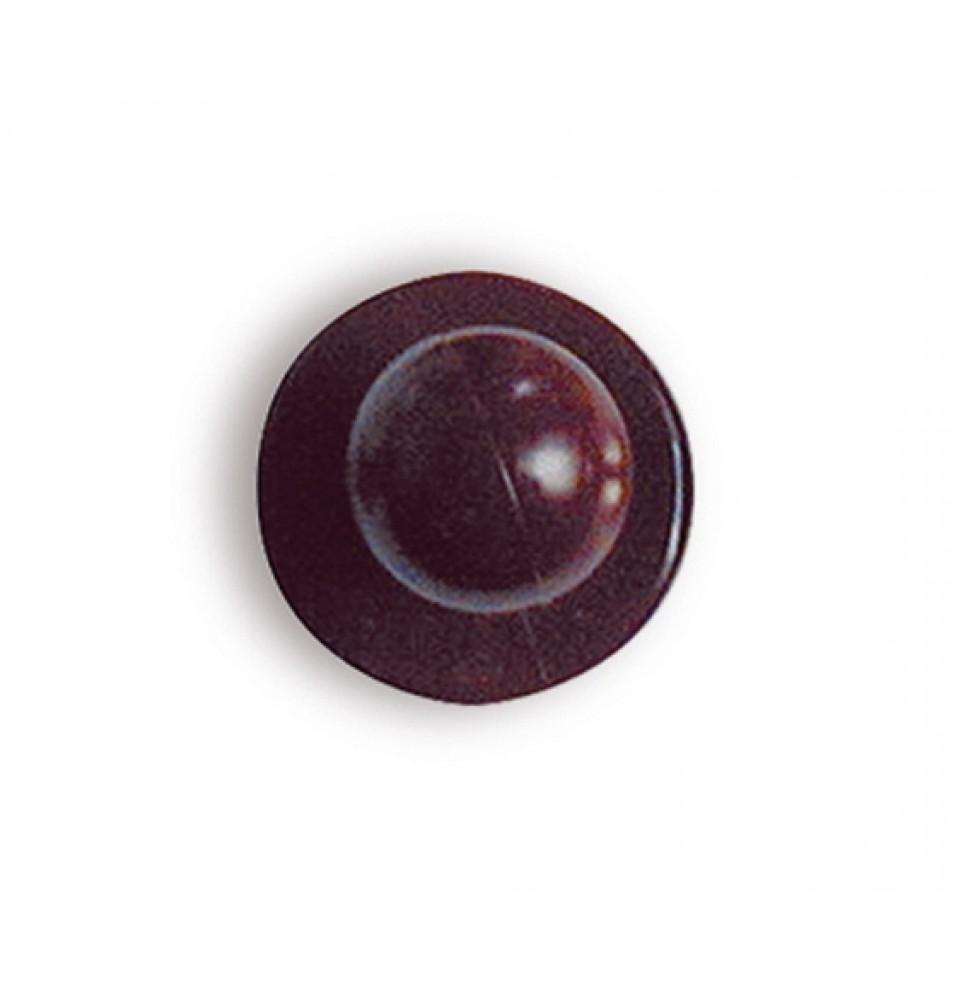 Set 12 butoni pentru tunici, bordeaux