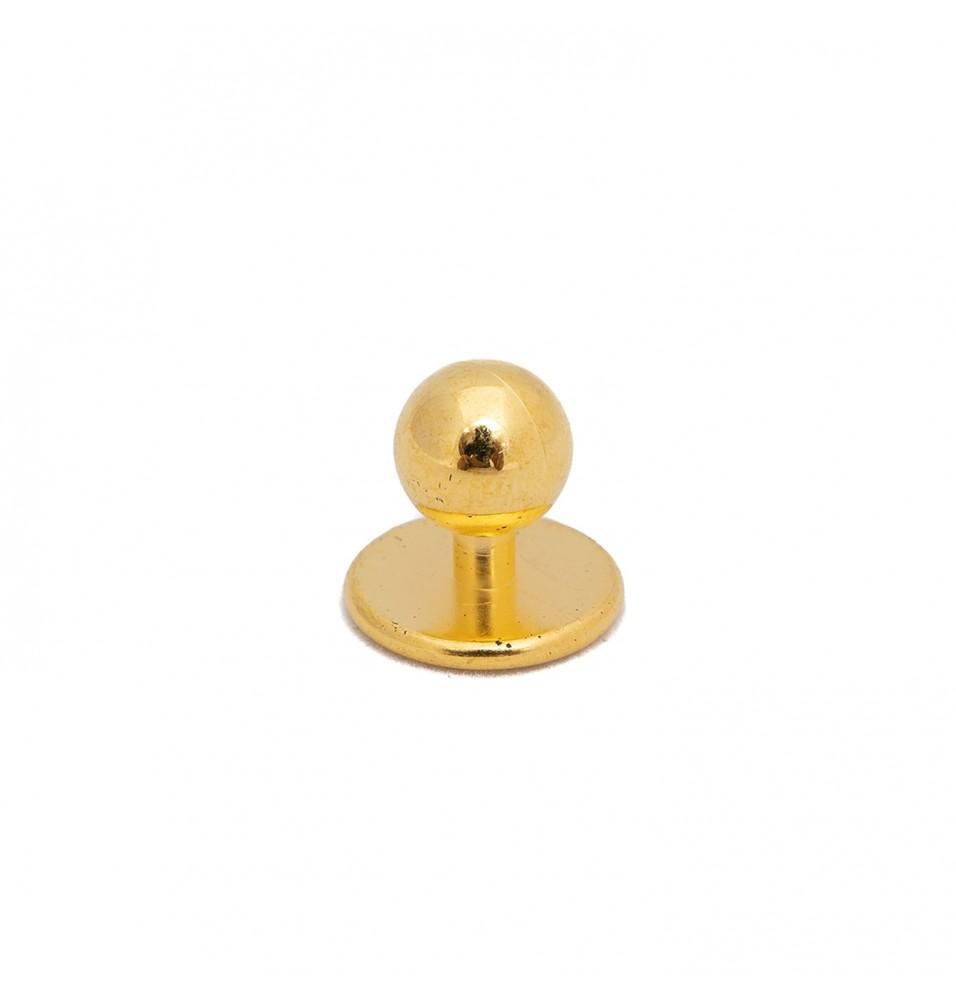 Set 12 butoni pentru tunici, auriu