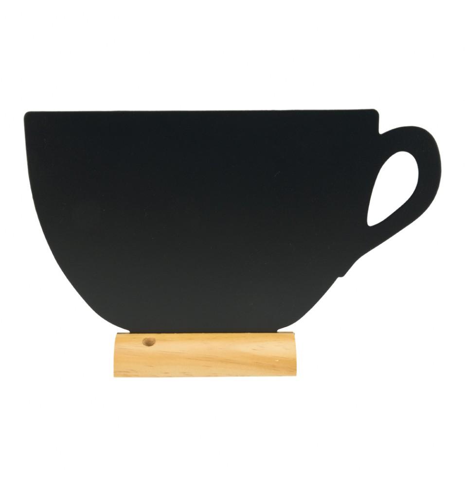 Tabla neagra, forma ceasca, dimensiuni 335x60x213hmm