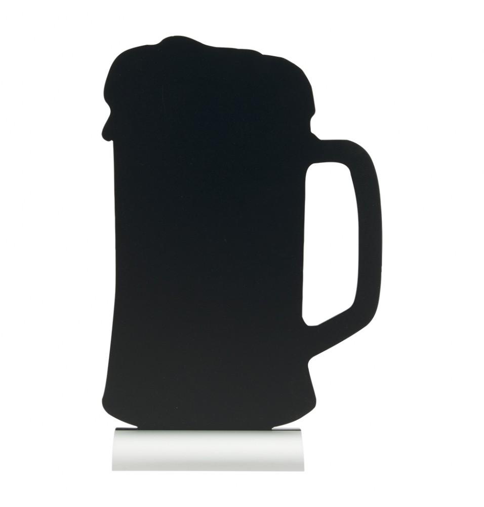 Tabla neagra forma halba+marker -model Silhouette