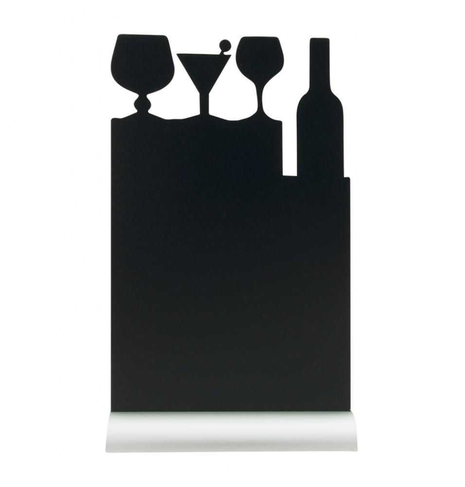 Tabla neagra forma masa cocktail+marker