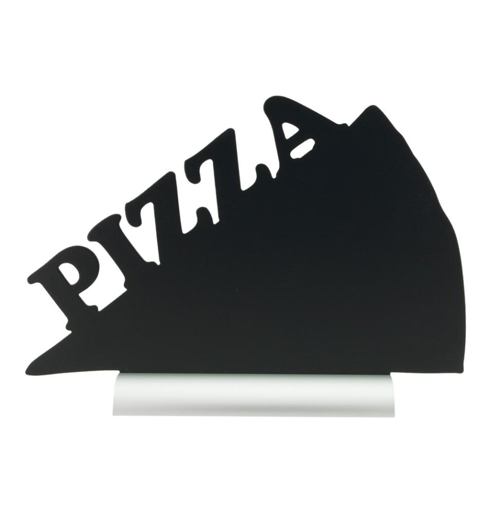 Tabla neagra, forma felie pizza, dimensiuni 340x60x240hmm