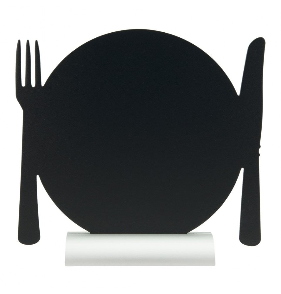 Tabla neagra, forma farfurie, dimensiuni 245x60x240hmm