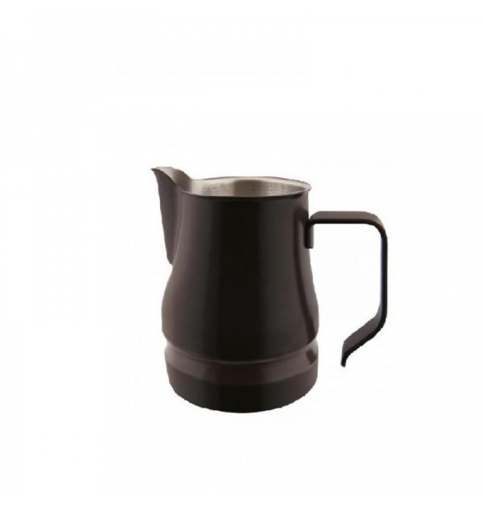 Latiera pentru cappuccino, culoare neagra, capacitate 500ml