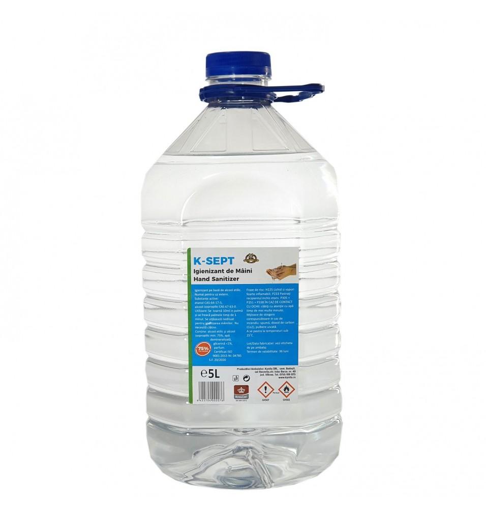 Dezinfectant biocid pentru maini, 5 litri