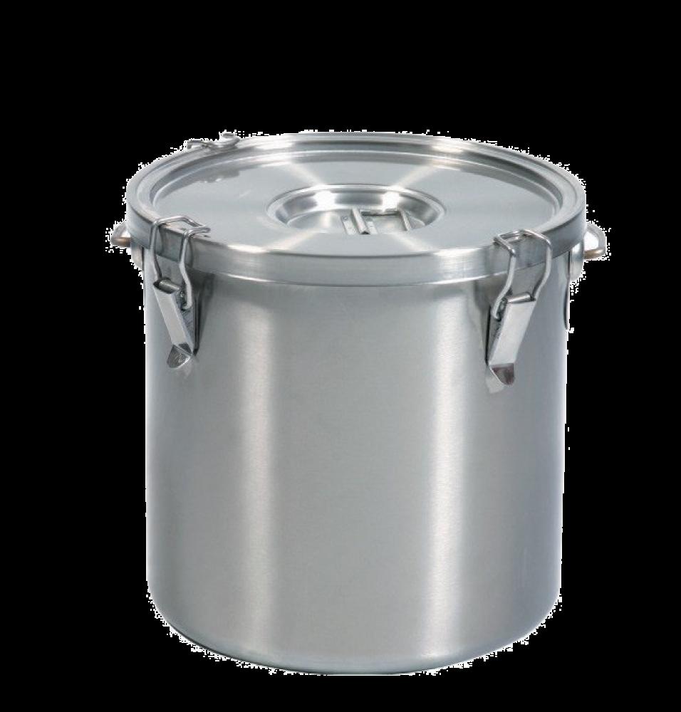 Marmita transport mancare, capacitate 19 litri, inox, diametru 300mm