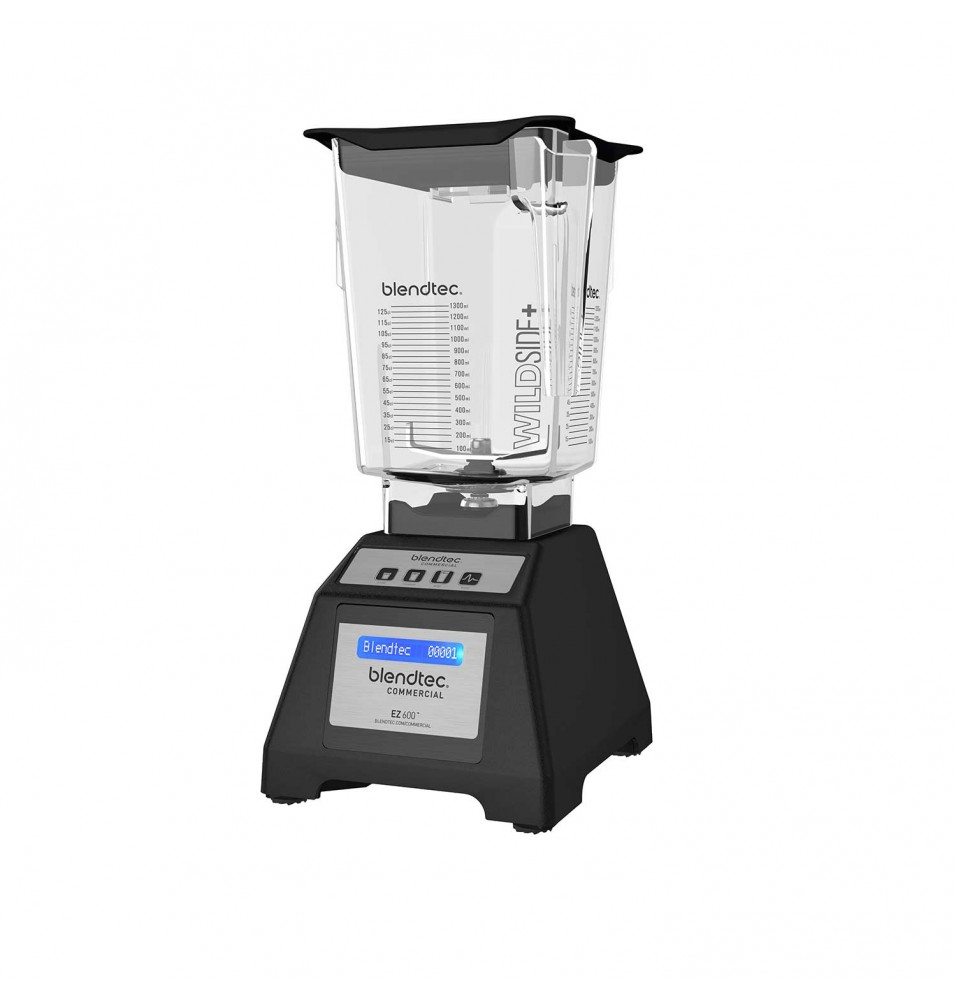Blender Blendtec, model EZ 600, culoare neagra, motor 3.0 HP, putere 1680W