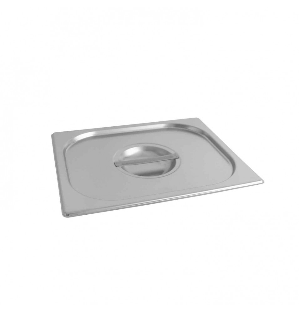Capac inox GN1/2, grosime inox 0.80mm, inox AISI201, dimensiuni 325x265mm