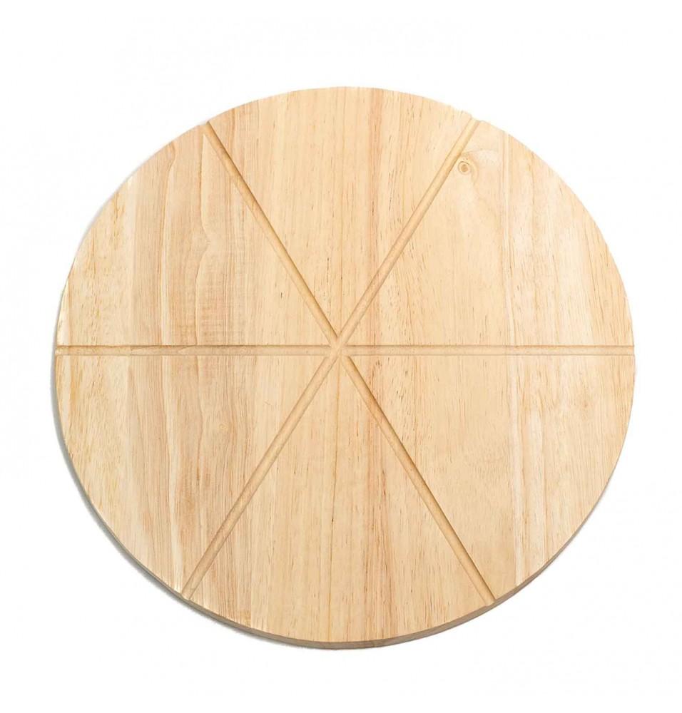 Platou servire pizza din lemn, diametru 305mm