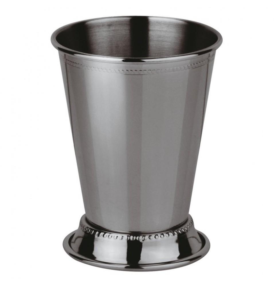 Pahar din inox capacitate 380 ml, culoare argintie