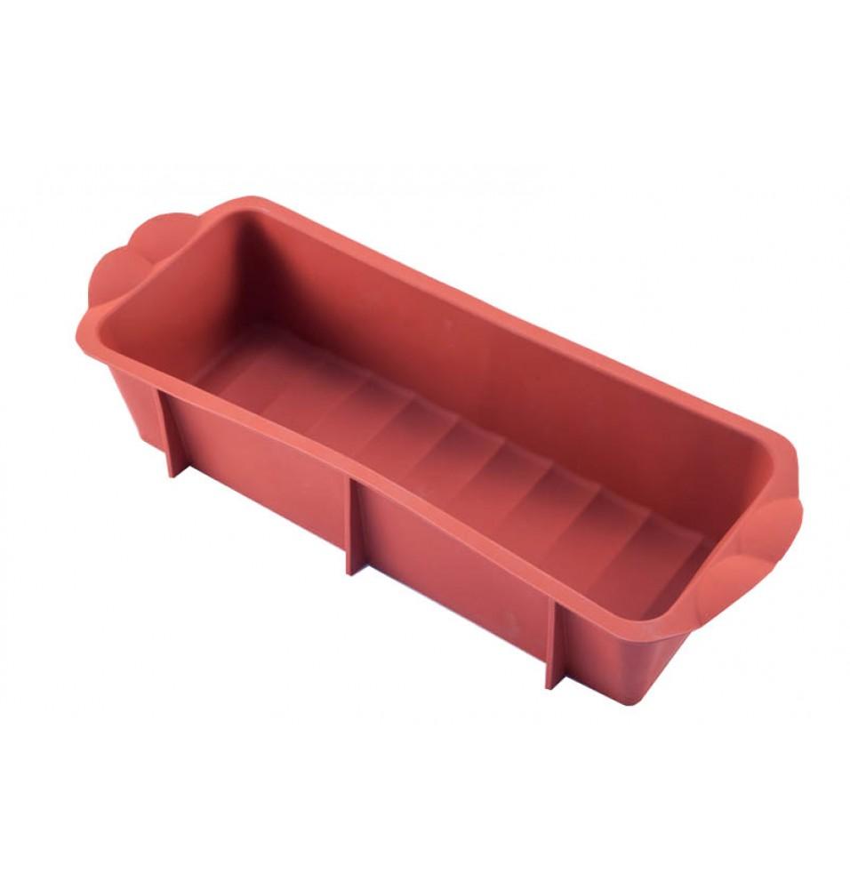 Forma dreptunghiulara, silicon culoare rosie, dimensiuni(LxlxH mm): 280x105x75