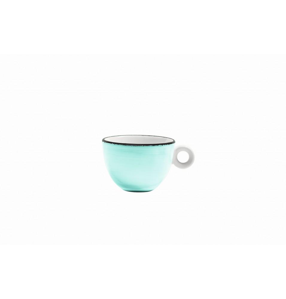 Ceasca ceai, capacitate 200ml, culoare turcoaz