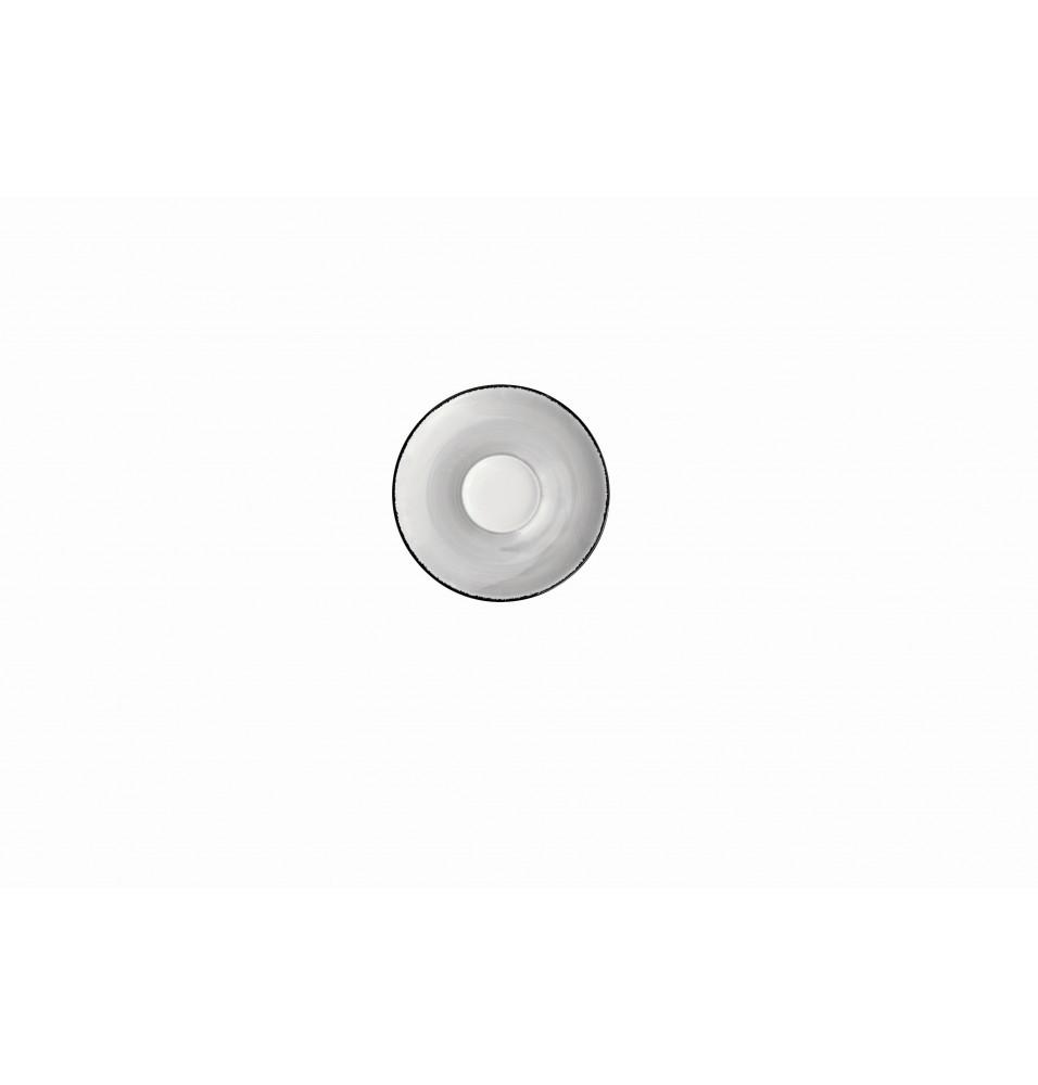 Farfurioara pentru ceasca ceai, diametru 145mm, culoare gri