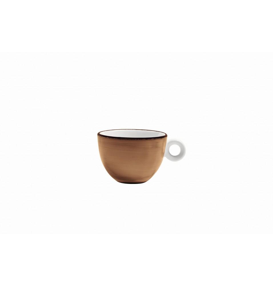 Ceasca ceai, capacitate 200ml, culoare maro