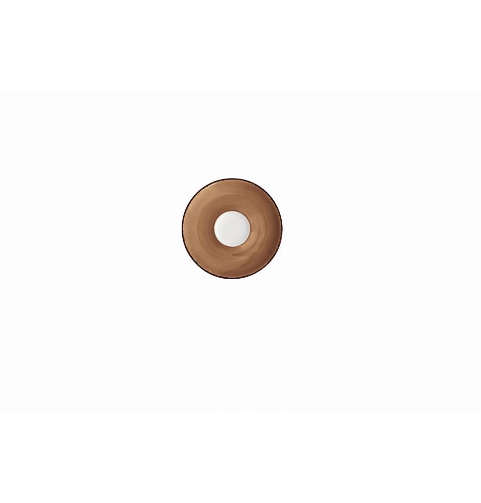 Farfurioara pentru ceasca ceai diametru 145mm culoare maro linia Pure