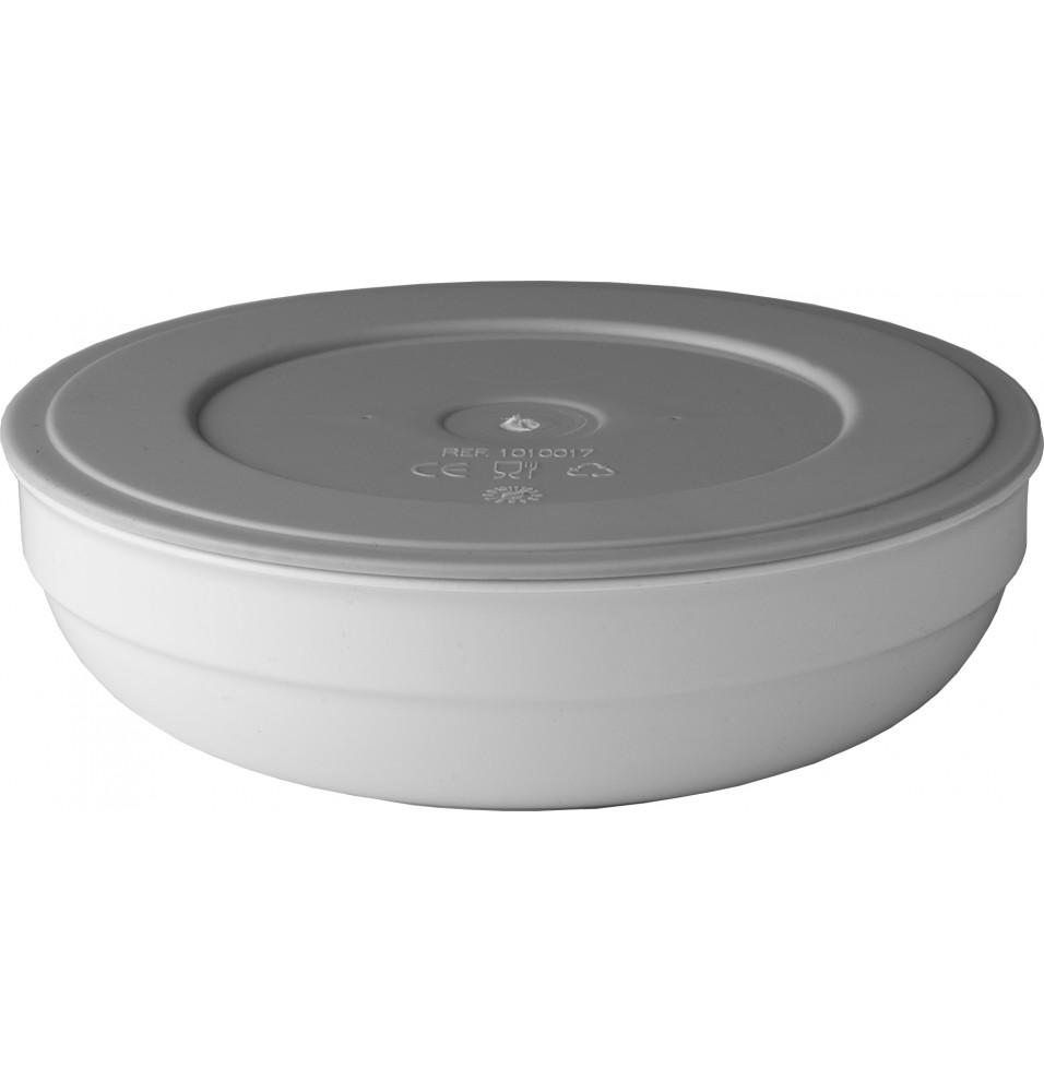 Capac ermetic pentru bol rotund salata cod R192001, policarbonat