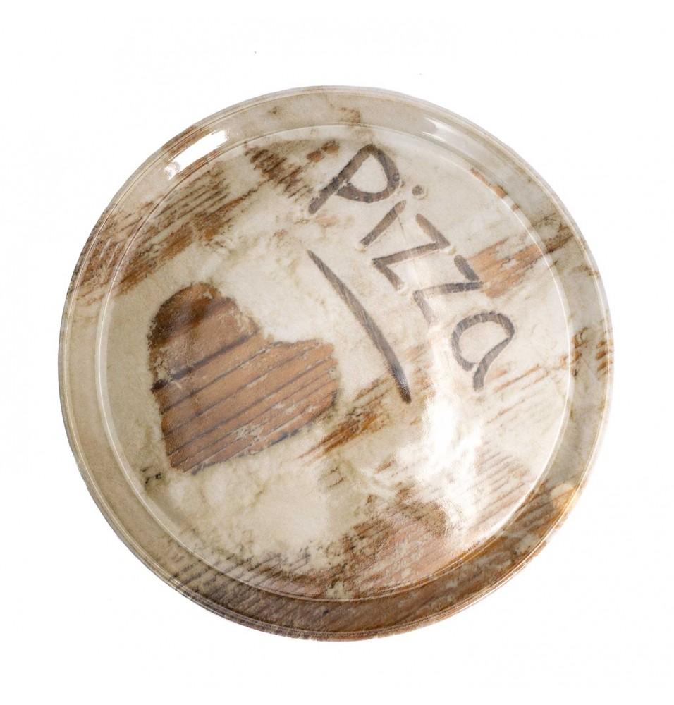Farfurie pentru pizza diametru 310mm, model Flour Heart, portelan