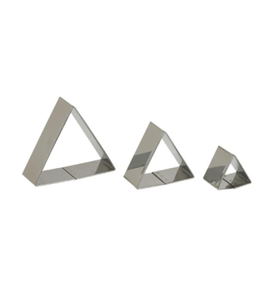 Set 3 forme triunghi pentru patiserie