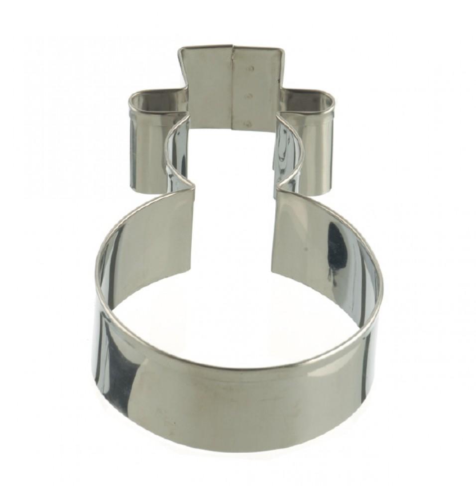 Cutter, inox, dimensiune 145x80x30 mm