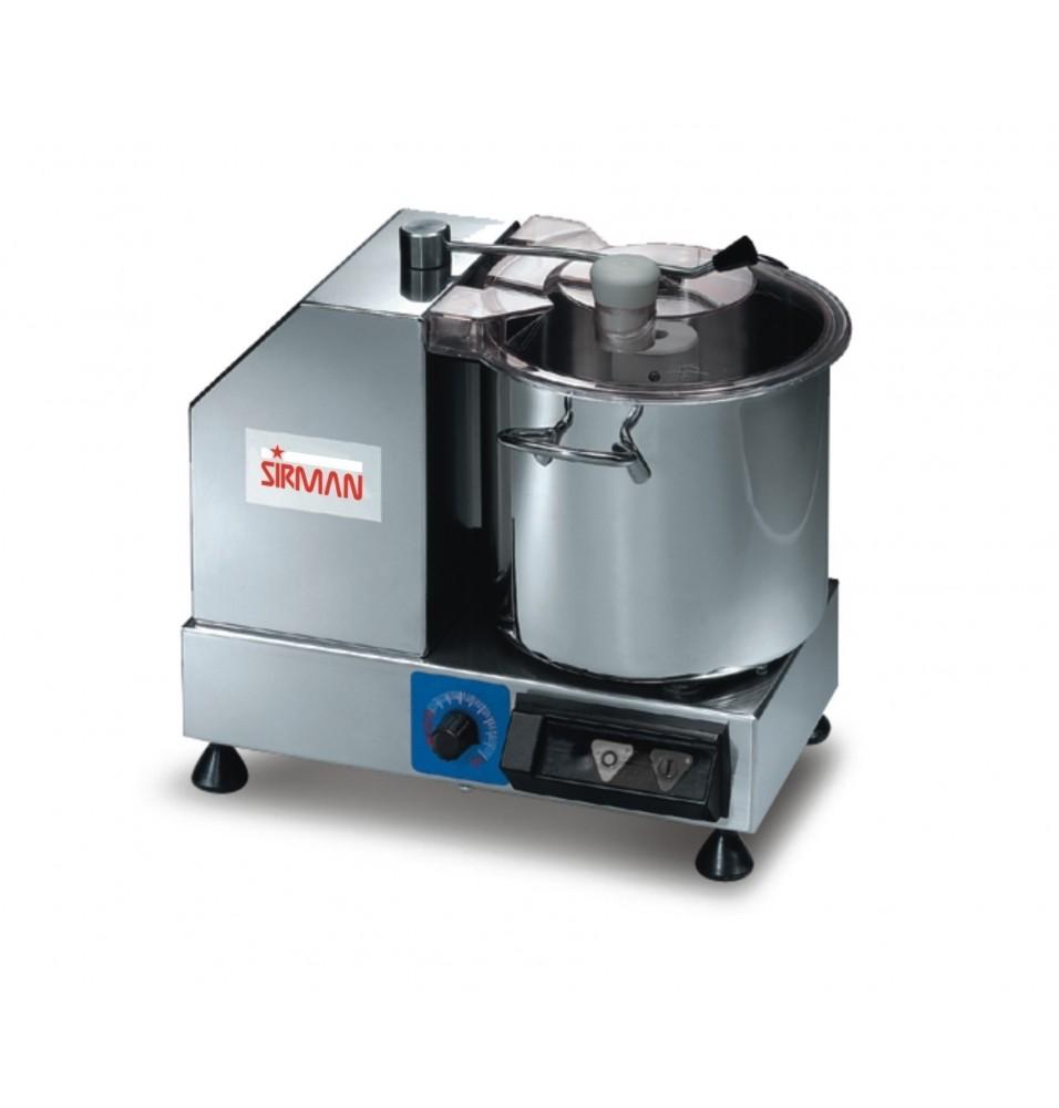 Cutter, capacitate 5.3 litri, dimensiuni 365x305x320mm, alimentare 220V, putere 350W, greutate 11kg