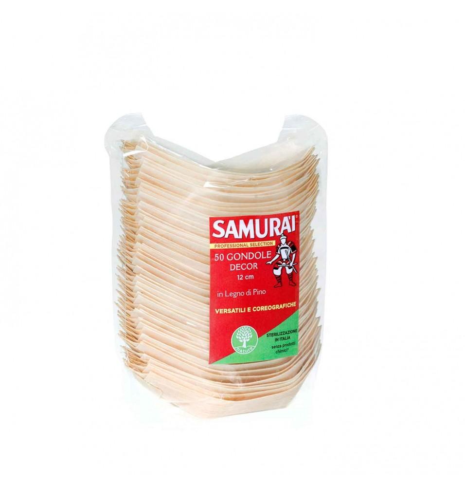 Set 50 gondola bambus 12 cm