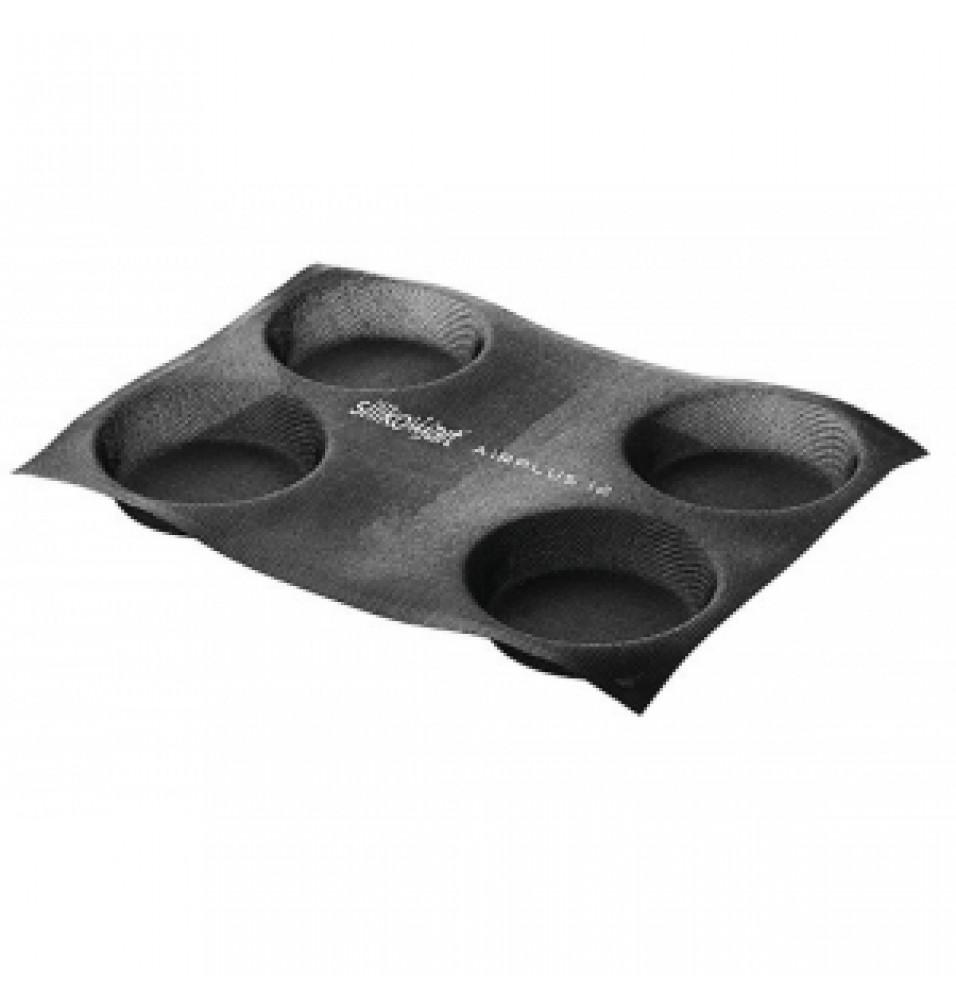 Forma din fibra de sticla, model Round, culoare neagra, temperatura de lucru -40grC/+230grC