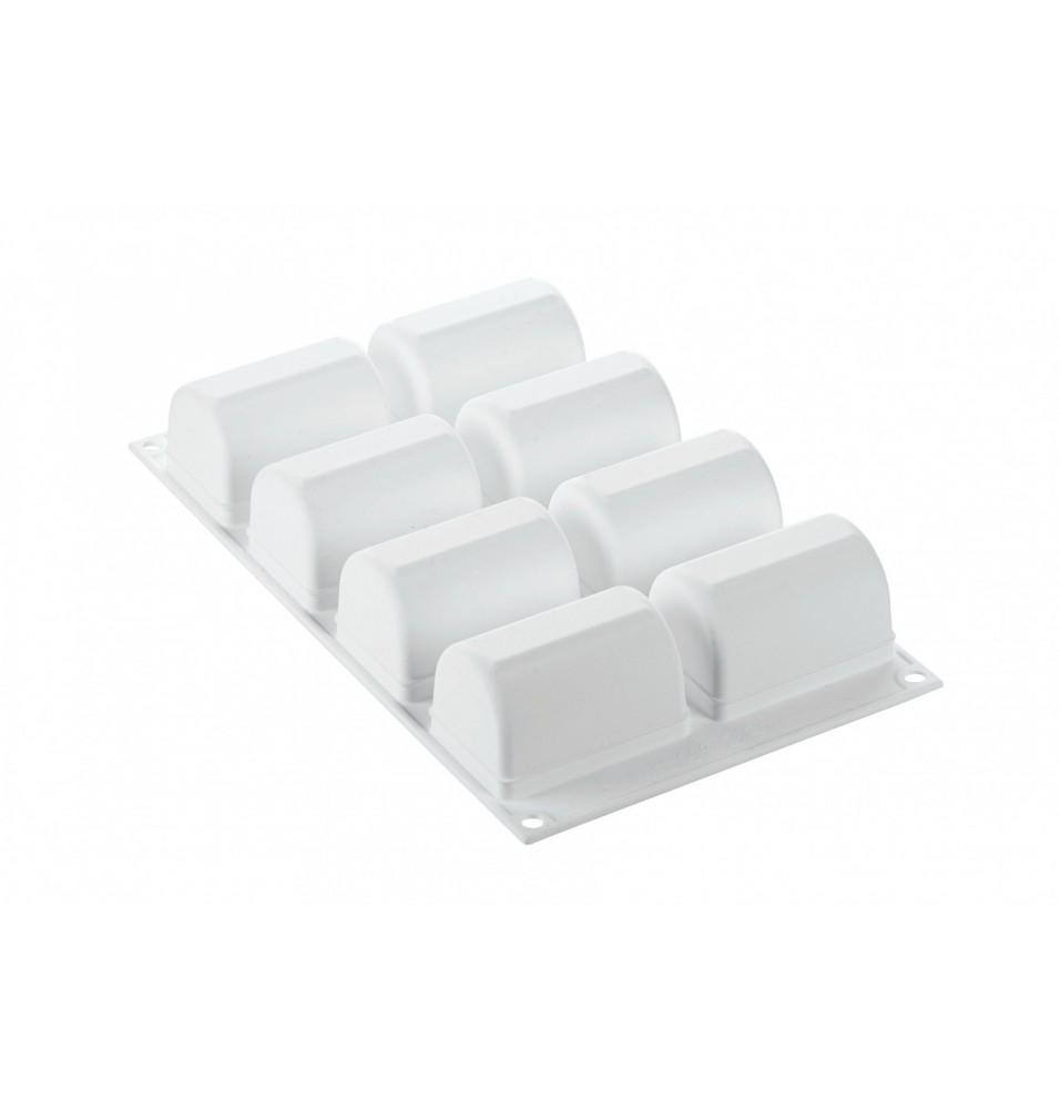 Forma silicon -culoare alba 75x50x45hmm