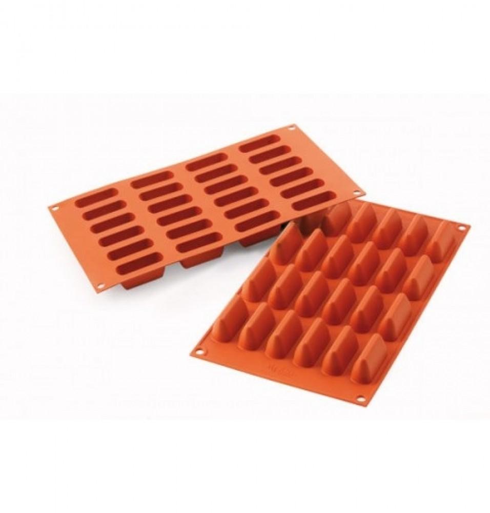 Forma din silicon pentru 24 forme mini dreptunghiulare