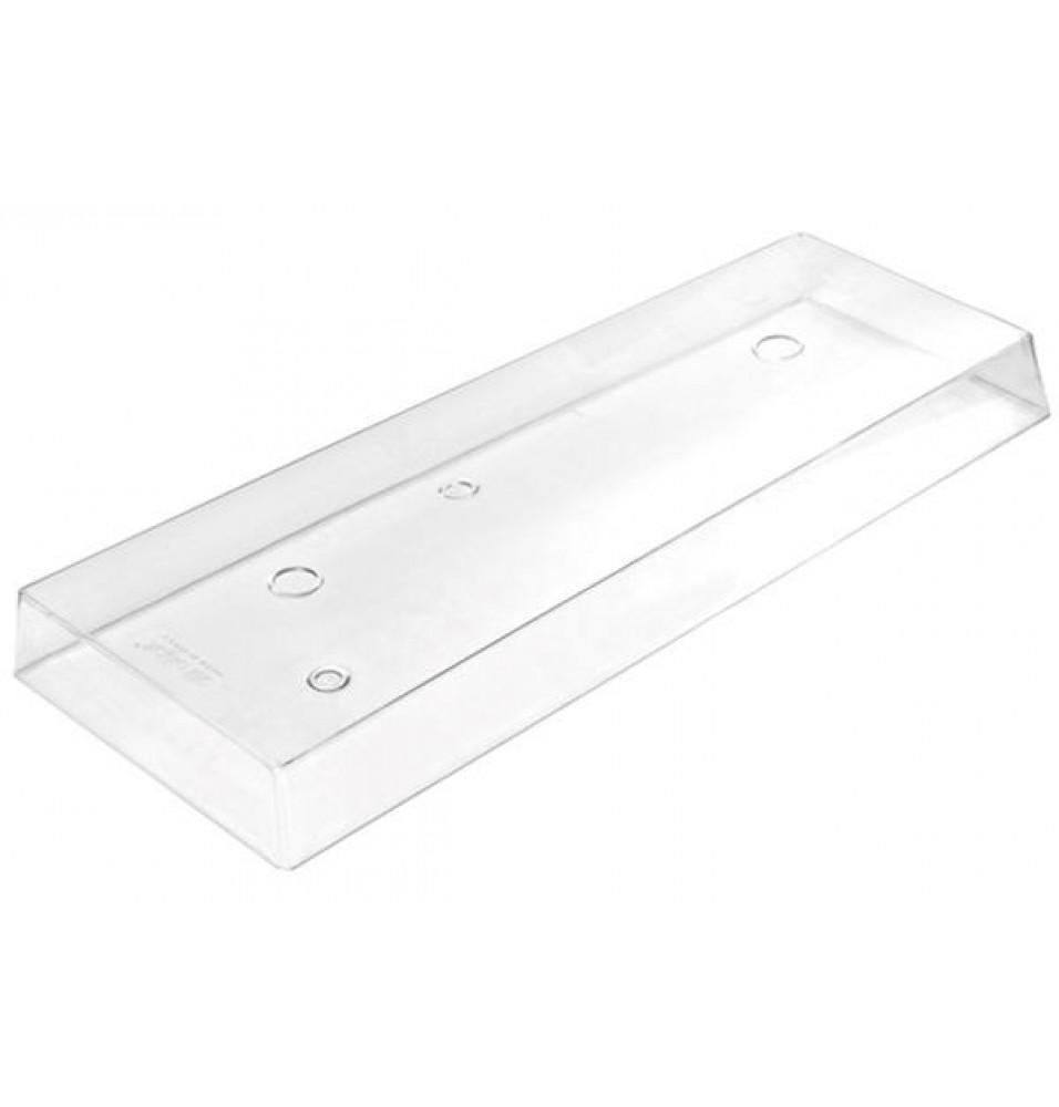 Capac policarbonat transparent, dimensiuni 390x109xh32 mm