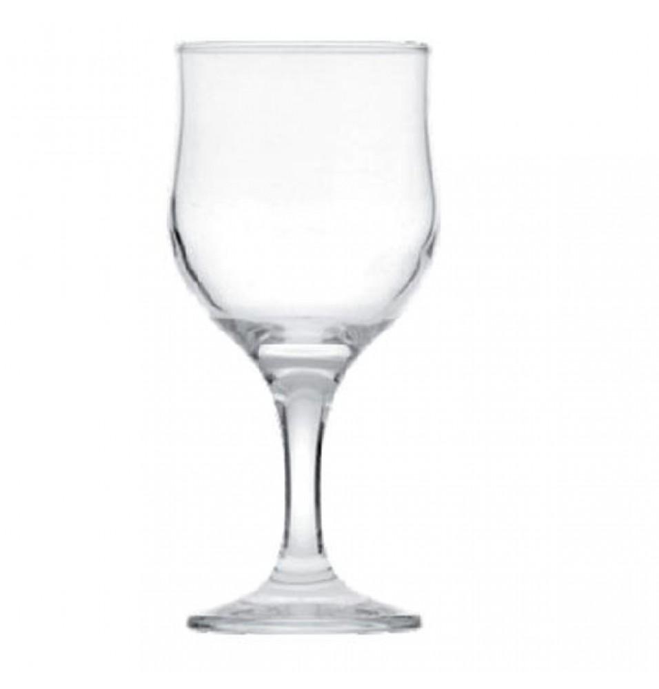 Pahar vin, cu picior, sticla, capacitate 240ml