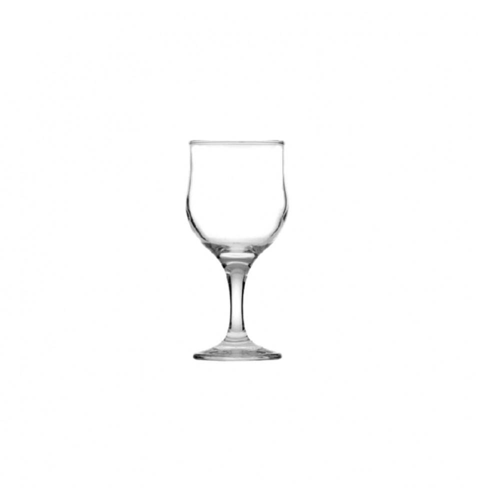Pahar din sticla pentru vin alb, din sticla transparenta, capacitate 150-300ml