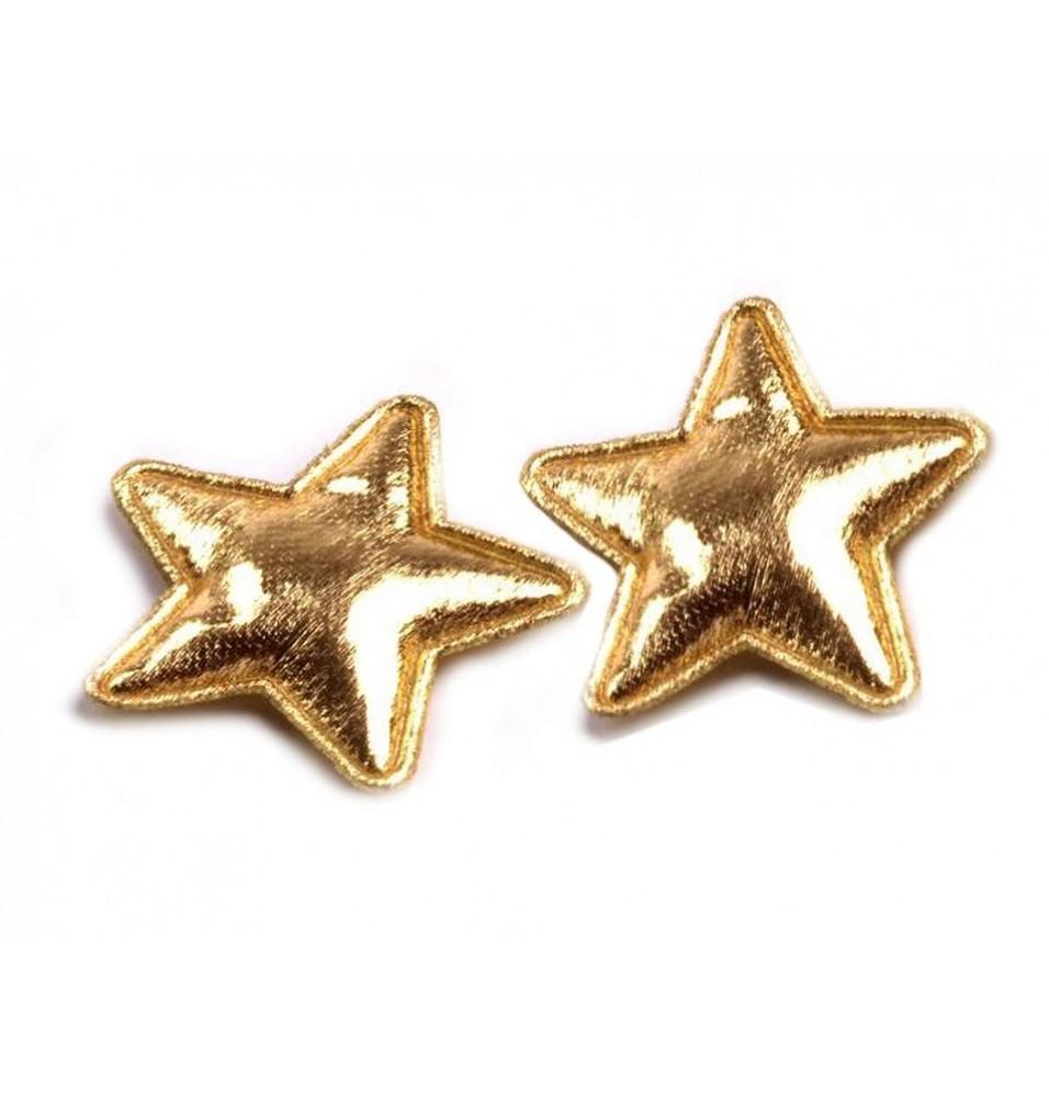 Set 50 stelute aurii decorative, diametru 30mm