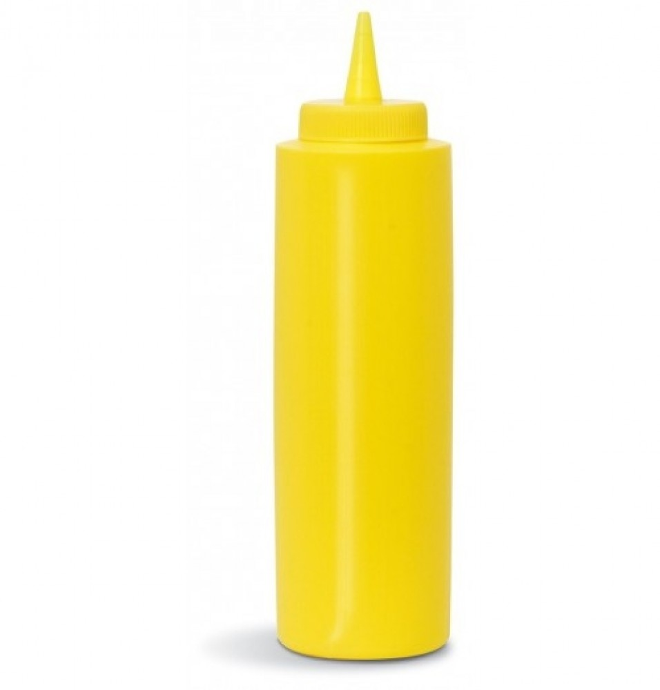 Flacon dozator, capacitate 720ml, culoare galbena