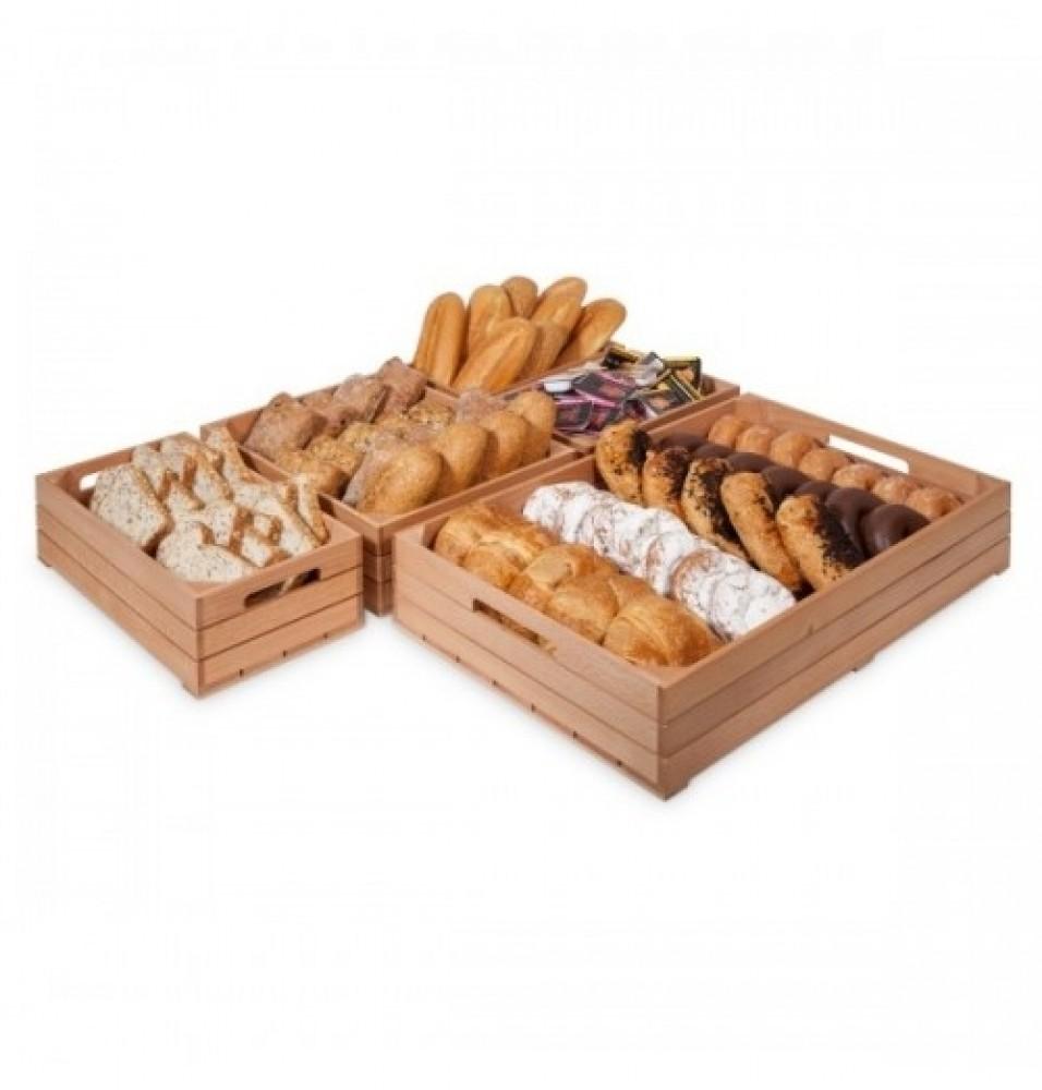 Cutie din lemn de fag dimensiuni 530x325x100 mm