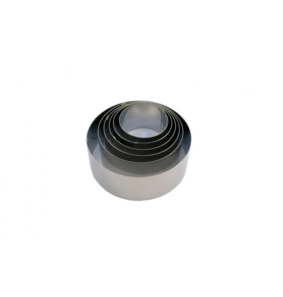 Set 6 inele, inox, diametru 45 - 120mm