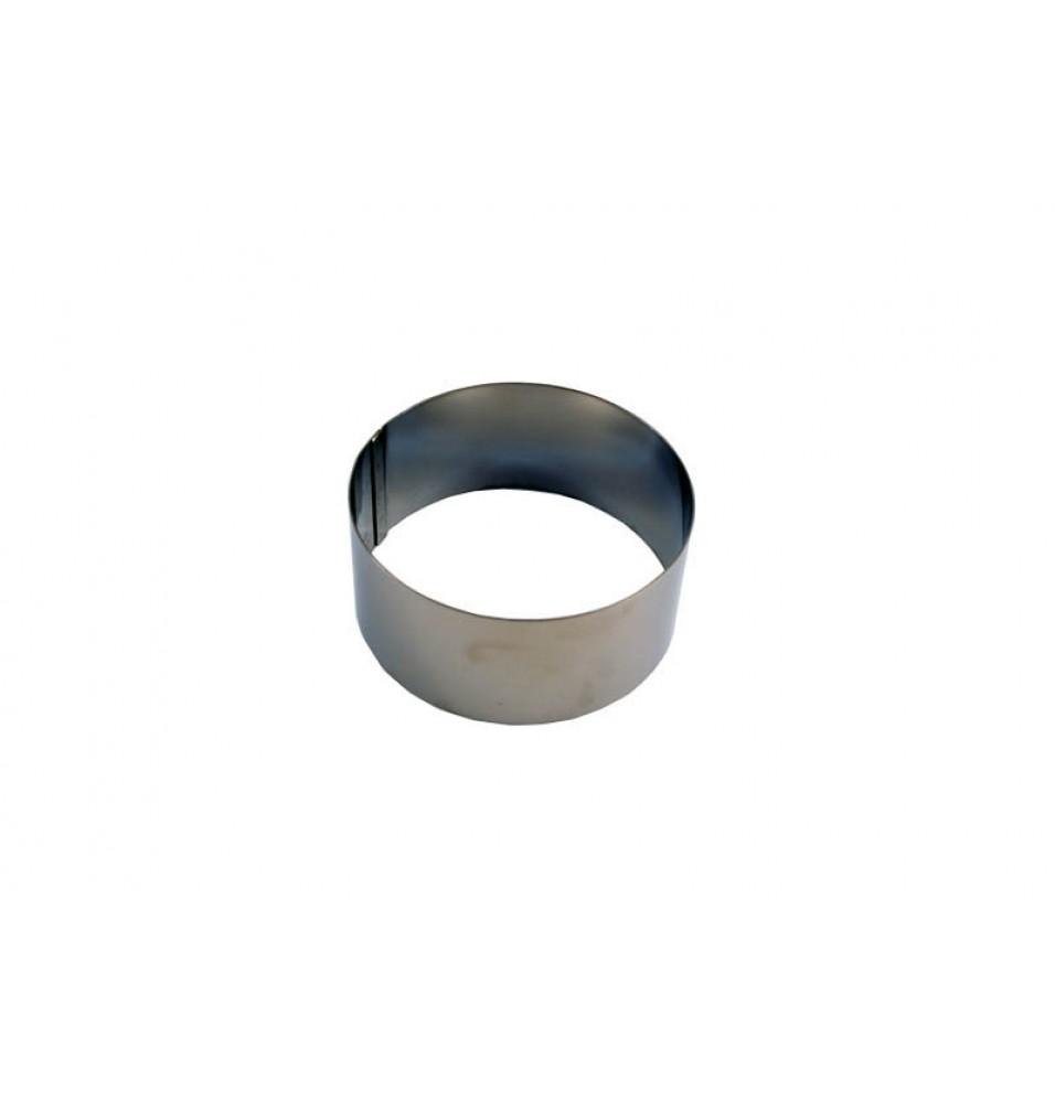 Inel, inox, diametrul 90mm, inaltime 45mm