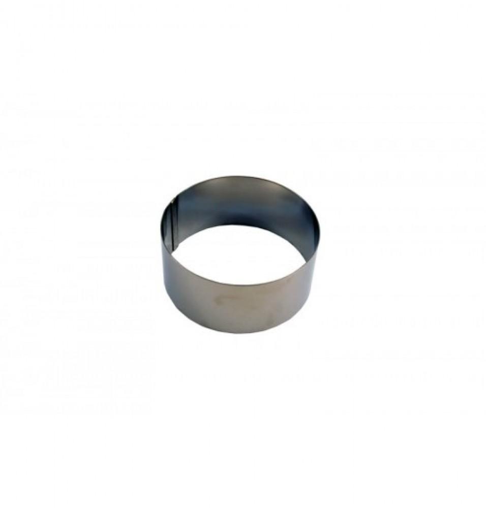 Inel, inox, diametrul 100mm, inaltime 45mm