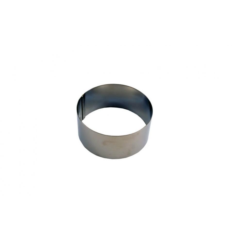 Inel, inox, diametrul 120mm, inaltime 45mm