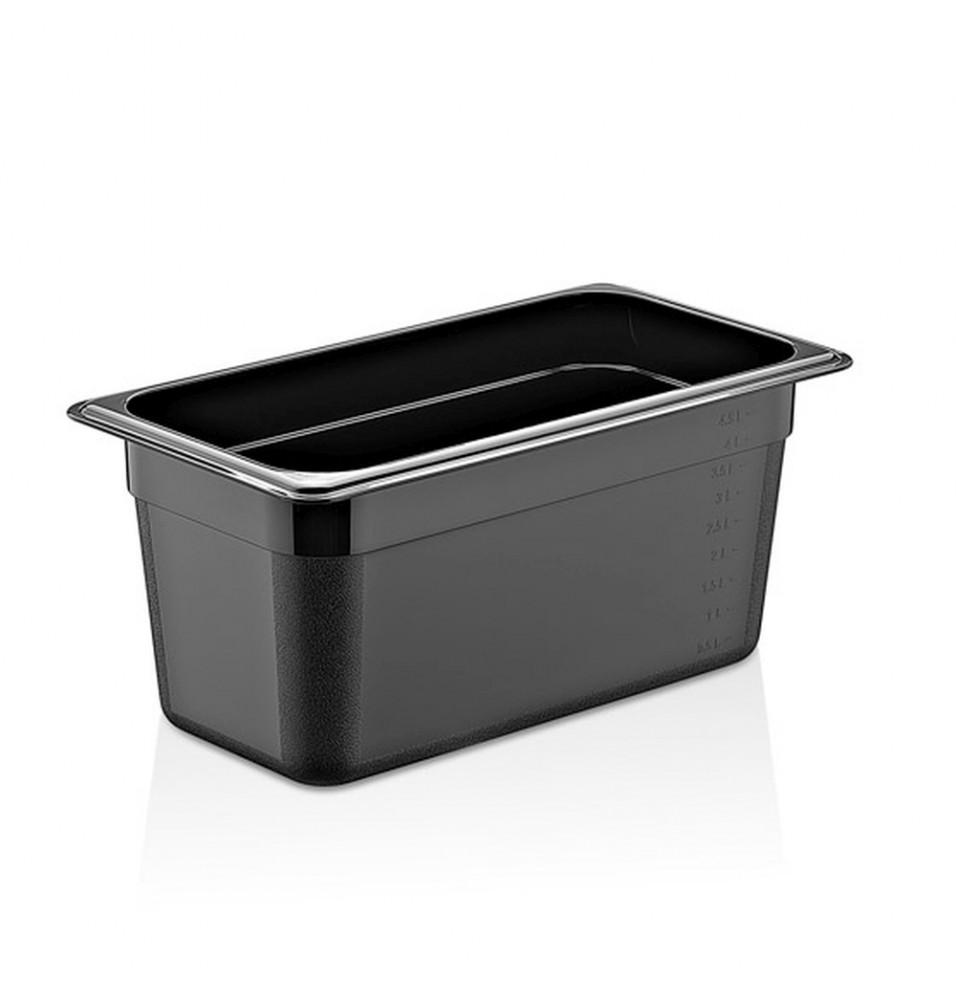 Cuva GN1/3, policarbonat, culoare neagra