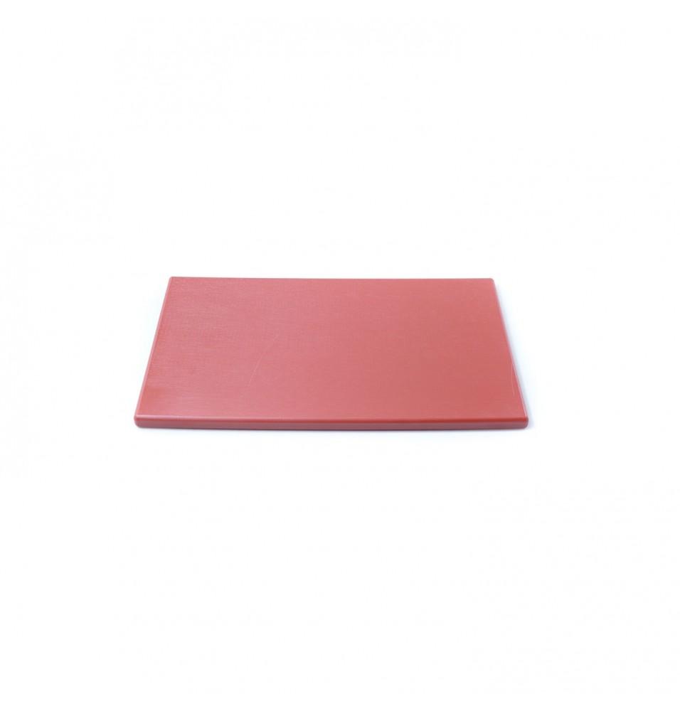 Tocator polietilena, culoare rosie, dimensiuni 300x500x20hmm