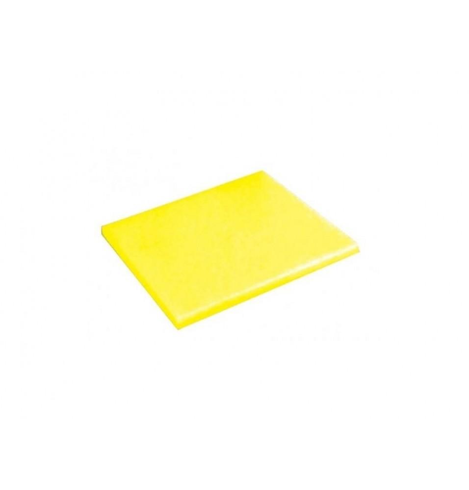 Tocator polietilena 325x530x20hmm -culoare galben