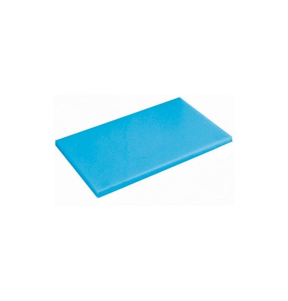 Tocator bucatarie profesional din polietilena, culoare albastra, dimensiuni 450x300x15mm