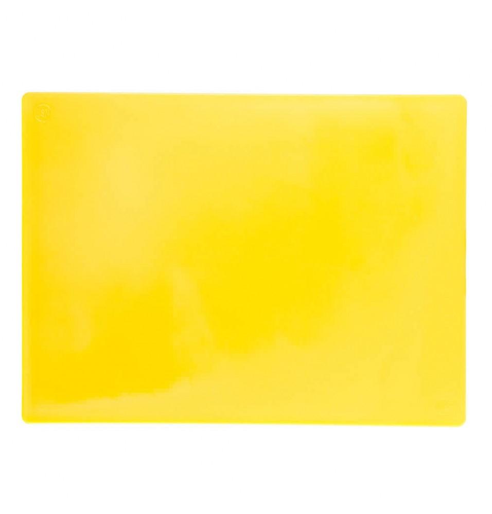 Tocator, polietilena, culoare galben, dimensiuni 600x400x20hmm