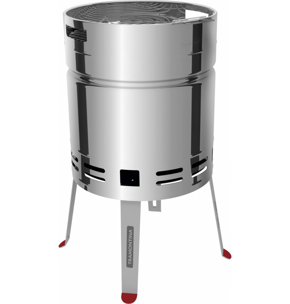 Grill inox TCP 400 Charcoal dimensiuni 408mm X 749mm